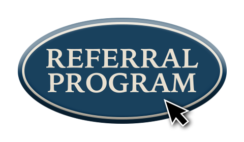 referral program button